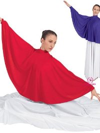 13739 Liturgical Dance Angel Wing Colar.