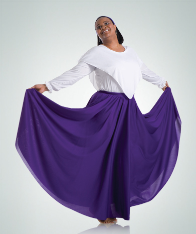 502 Double Circle Skirt
