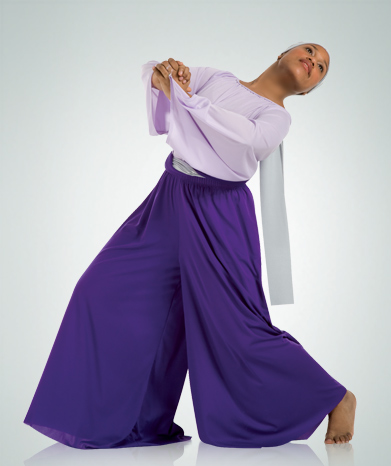 565 Adult Polyester Palazzo Pants