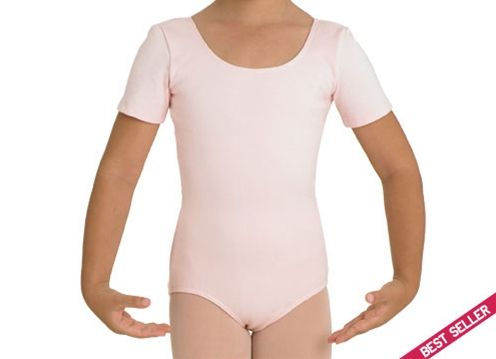 CL 5402 Short Sleeve Cotton  Leotard