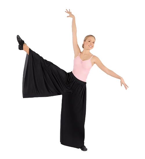 13696 Adult Polyester Palazzo Pants
